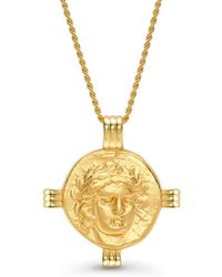 Missoma - Lucy Williams X Apollo Medallion Necklace - Lyst