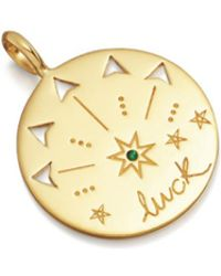 Missoma - Luck Amulet Pendant - Lyst