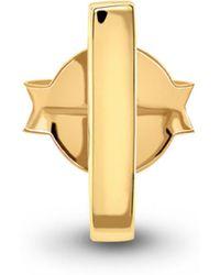 Missoma - Gold Single Bar Stud - Lyst