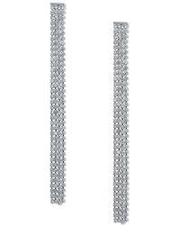 Miss Selfridge - Rhinestone Earrings - Lyst