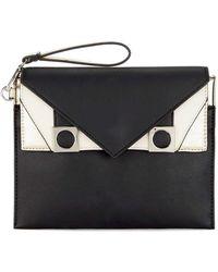 Miss Selfridge - Face Clutch Bag - Lyst