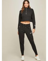 Miss Selfridge | Pineapple Black Deep Cuff Joggers | Lyst