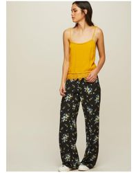 Miss Selfridge - Printed Side Striped Pyjama Trousers - Lyst