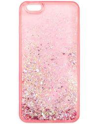 Miss Selfridge - Glitter Iphone Case 6 - Lyst