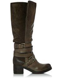 Moda In Pelle - Gasparo Brown Leather - Lyst