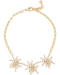 Lulu Frost | Nova Star Gold-plated Brass And Glass Pearl Necklace | Lyst