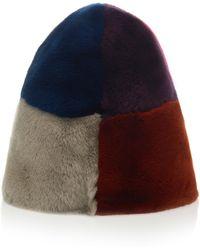 Marni - Beaver Fur Hat - Lyst
