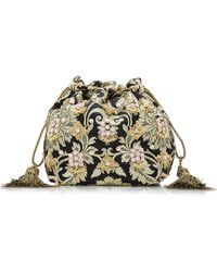 Etro - Chatelaine Floral Beaded Pouch - Lyst