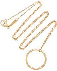 Monica Rich Kosann - Poesy Luck 18k Gold Ruby Necklace - Lyst