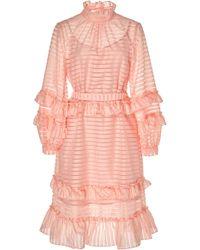 Hofmann Copenhagen - Adela Printed Mini Shift Dress - Lyst