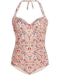 Anna Sui - Garden Of Eden Swimsuit - Lyst