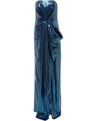 Prabal Gurung - Strapless Draped Sequined Gown - Lyst