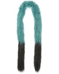 Anna Sui - Mongolian Faux Fur Scarf - Lyst