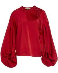 Hellessy - Sloane Cutout Blouse - Lyst