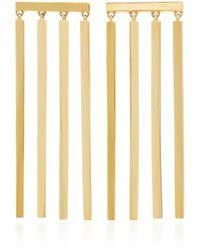 Established - Multi Stick 18k Gold Earrings - Lyst