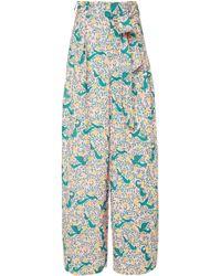 Banjanan - Garbo Printed Cotton Pants - Lyst