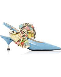 Prada - Exclusive: Bow Slingback - Lyst