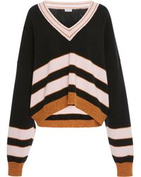 Loewe - Striped Wool Sweater - Lyst