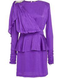 Dodo Bar Or - Grace Silk Dress - Lyst