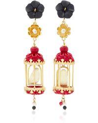 Of Rare Origin - Aviary 18k Gold Multi-stone Earrings - Lyst