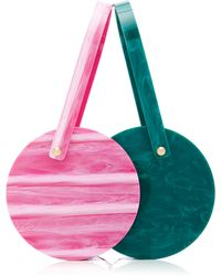 Edie Parker - Double Shot Two-tone Acrylic Bag - Lyst