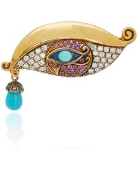 Sylvie Corbelin - One-of-a-kind Fascination Eye Ring - Lyst