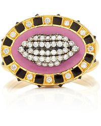 Holly Dyment - Glam Lips Ring - Lyst