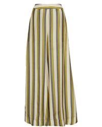 VERANDAH - Ultra Striped Wide-leg Pants - Lyst