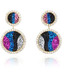 Shourouk - Spheyra Biba Earrings - Lyst