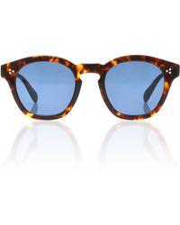 Oliver Peoples - Boudreau La Round Sunglasses - Lyst