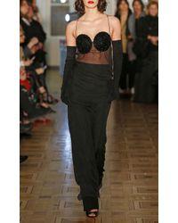 Djaba Diassamidze - Nina Mousseline Silk Long Dress - Lyst