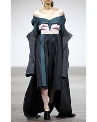 Atelier Kikala - Off The Shoulder Ruffle Dress - Lyst