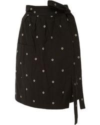 Alexis Mabille | Daisy Wrap Skirt | Lyst