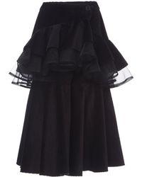 Rahul Mishra - Bedford Ruffle Skirt - Lyst