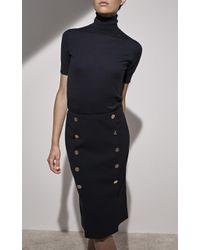 Ralph Lauren - Ophelle Button Skirt - Lyst