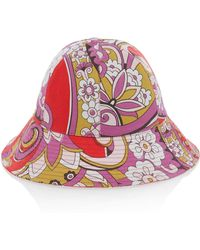 Etro - Paisley-print Bucket Hat - Lyst