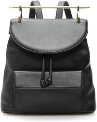 M2malletier | Calf Leather Backpack In Black | Lyst