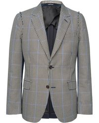 Alexander McQueen - Checked Wool-blend Suit - Lyst