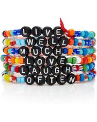 Roxanne Assoulin - Set-of-six Beaded Bracelets - Lyst