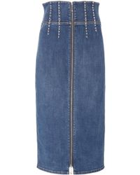 Current/Elliott - The Trilby Pencil Skirt - Lyst