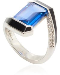 Nikos Koulis - One-of-a-kind Sapphire Oui Ring - Lyst