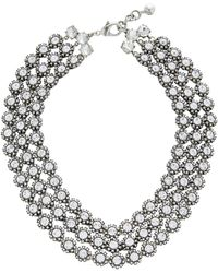 Lulu Frost - Beam Layered Crystal Necklace - Lyst