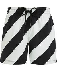 692facf2b5 Off-White c/o Virgil Abloh Yellow Vilebrequin Edition Moorise Swim Shorts  in Yellow for Men - Lyst
