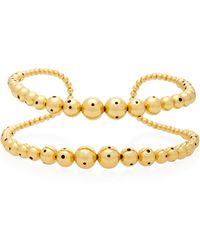 Paula Mendoza - Prins 24k Gold-plated Choker - Lyst