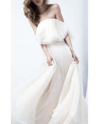 Maticevski - Heaven Float Asymmetric Silk Maxi Skirt - Lyst