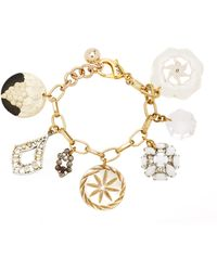 Lulu Frost One-of-a-kind Vintage Victorian And Edwardian Charm Bracelet