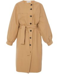 Apiece Apart - Cas Water Resistant Trench - Lyst