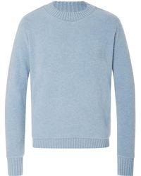 The Elder Statesman - Exclusive Crew Neck Cashmere Sweater - Lyst