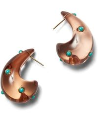 Lizzie Fortunato Arp Earrings - Brown