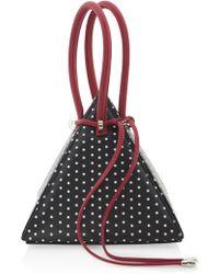 Nita Suri - M'o Exclusive Lia Bag With 3d Printed Polka Dot Design - Lyst